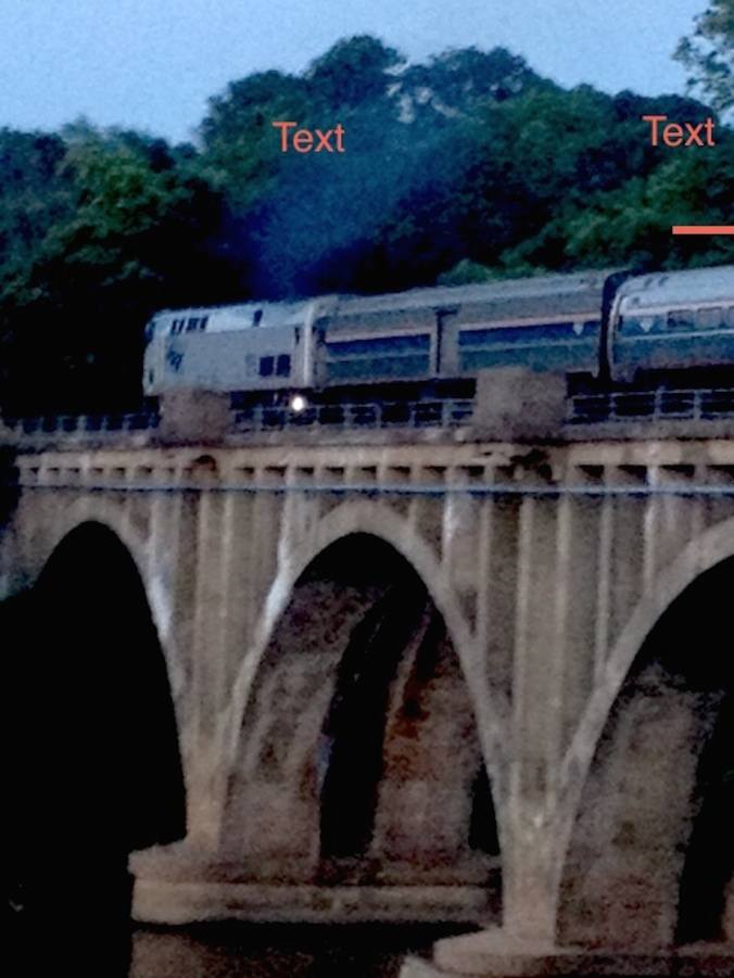 Amtrak on the River